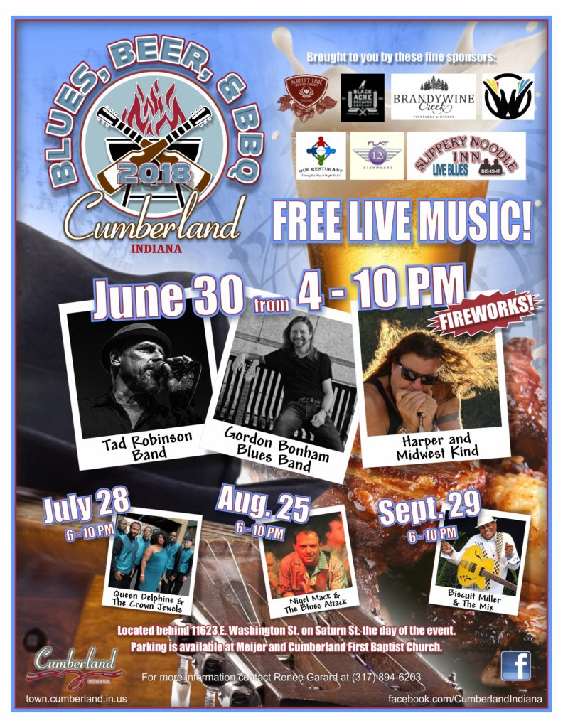 Blues Beer BBQ flyer 2