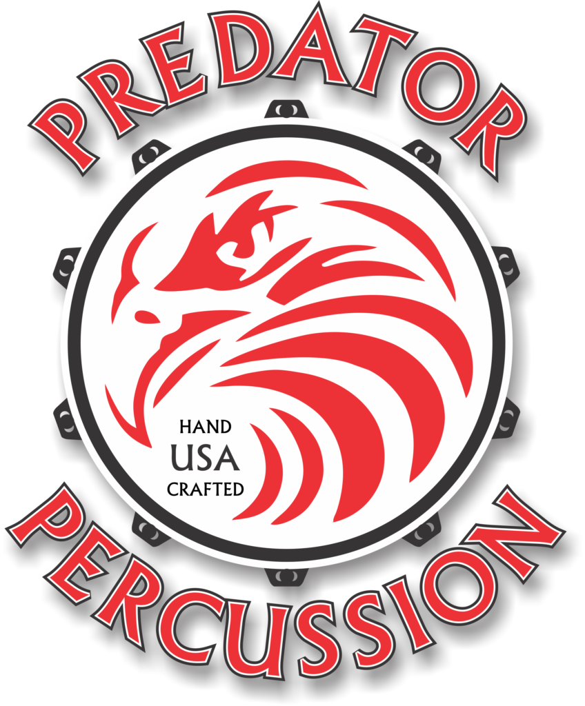 Predator logo - full color drop shadow no background