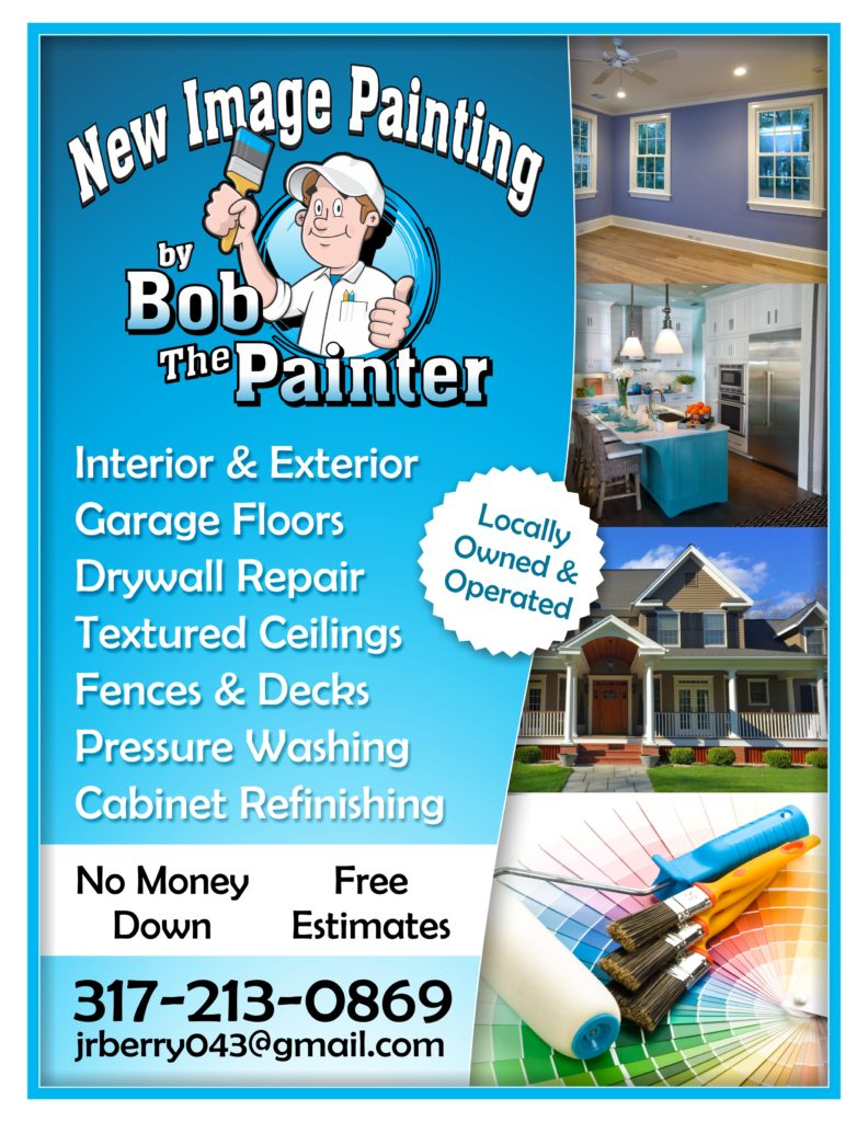 new image painting bob the painter flyer